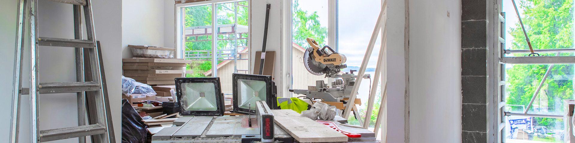 Rakentaminen ja remontointi - miten voimme auttaa? TRT palvelee Pirkanmaan alueella.