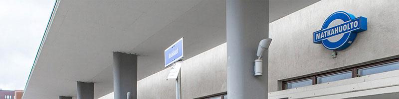 Matkahuollon toimitilamuutokset tehtiin ripeästi ja nopealla aikataululla.